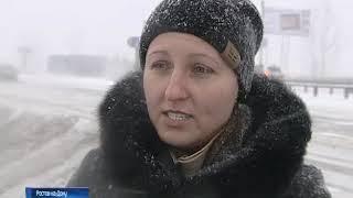 Упрдор: противогололедной смеси и техники для уборки снега с донских трасс достаточно