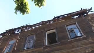Подробности пожара на Право-Лыбедской
