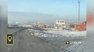 Жители Сибая жалуются на смог, нависший над городом