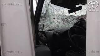 В ДТП с маршруткой и «Камазом» в Туле пострадали 2 человека
