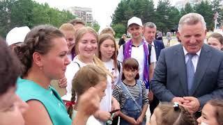 Губернатор Хабаровского края в Амурске