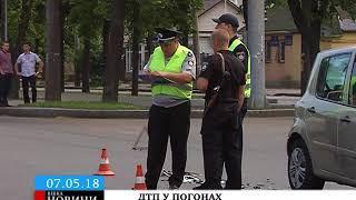 У Черкасах сталася ДТП за участі поліцейського авто