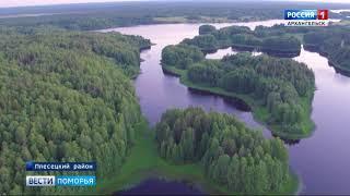 В деревне Вершинино Плесецкого района открылась выставка московских художников