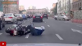 Дураки и дороги Подборка ДТП 2018 Сборник безумных водителей #183