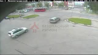 ДТП Ленинградский/Урицкого.19.07.18.