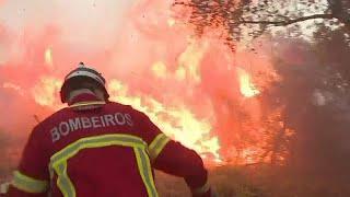 Португалия в огне