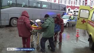 В здание автовокзала в Вологде въехал пассажирский автобус: учения спецслужб