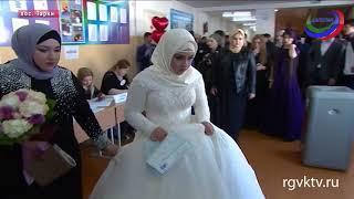 В Дагестане молодожены прервали свадебную церемонию для того, чтобы проголосовать