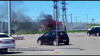 На трассе в Ростове Великом вспыхнула фура