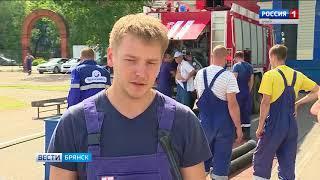 """Соревнования пожарных дружин в """"Транснефть-Дружба"""""""