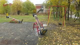 Детские площадки и недоделаный парк