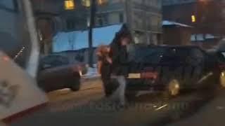 ДТП на Кировском Горького 28.2.2018 Ростов-на-Дону Главный