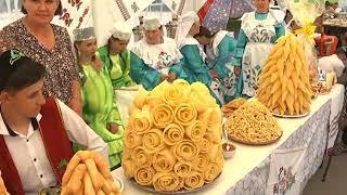 В парке Гагарина отпраздновали татарский праздник Сабантуй