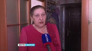 Жители улицы Буммашевская в Ижевске жалуются на протекающую крышу