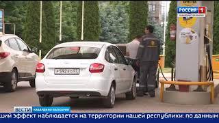 В Нальчике обсудили состояние рыночных цен на бензин.