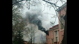 В Башкирии загорелся дворец культуры «Сода»