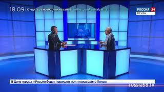 Россия 24. Пенза: биография легендарного человека Александра Кислова от первого лица