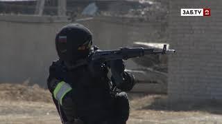 Суровые бойцы ОМОНа показали свои навыки и умения
