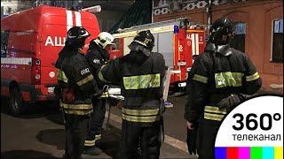 Спасатели завершили работы на месте обрушения дома в центре Москвы