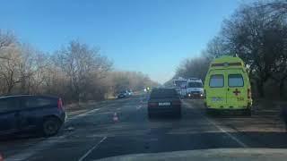 Жуткое ДТП в Крыму: столкнулись 4 авто
