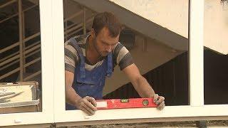 В волгоградских школах устанавливают новые окна