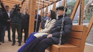 UTV. Уфимцы могут прогуляться по набережной Белой и оценить будущее благоустройство