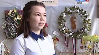 Выставка юных флористов во Дворце творчества Мемориал(ГТРК Вятка)
