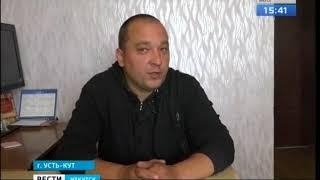 Житель Усть-Кута на свои деньги едва начал возводить детскую площадку, но уже «получил по рукам»