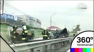 Серьезное ДТП произошло на Ленинградском шоссе