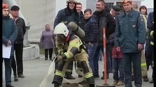 Областные соревнования по пожарному кроссфиту