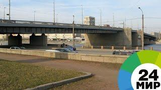 Мост в Петербурге развелся сам по себе через сутки после ремонта - МИР 24