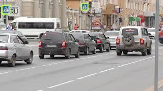 В Кургане перекресток улиц Ленина–Горького будет закрыт несколько дней