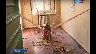 Донские художники устроили выставку в пустующем здании на улице Московской в Ростове