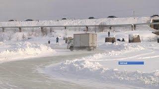 Первые официальные соревнования по зимнему дрифту прошли в Мирном