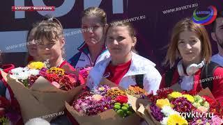 Женская сборная России по вольной борьбе уже в Дагестане