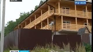 Шесть многоэтажных домов обесточили в Листвянке