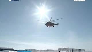 В Ненецком автономном округе упал вертолёт