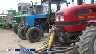 В Тотьме проходит областной конкурс трактористов и машинистов сельхозтехники