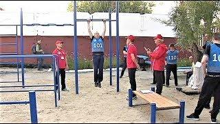 7 заключённых Сургутской ИК-11 получили серебряный значок ГТО