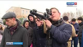 На базе части под Смоленском прошел «День призывника»