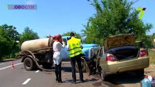 ДТП на Тираспольском шоссе в Одессе: пострадали три человека