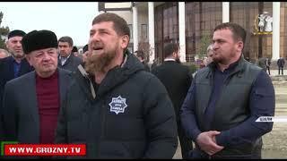 Рамзан Кадыров провел инспекцию строительства в Шали