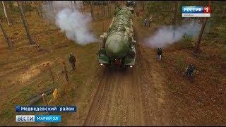 В Марий Эл проходят масштабные учения ракетной дивизии
