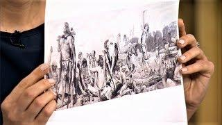 Картину нефтью представили на новой выставке в Ханты-Мансийске
