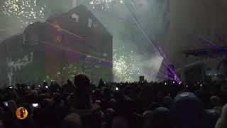 """В Волгограде разрушенная мельница Гергардта """"восстала из руин"""" на концерте в честь 75-годовщины"""