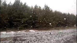 В отдельных районах Башкирии снова наступила зима