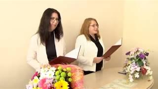 В ЗАГСе состоялась торжественная регистрация новорожденных