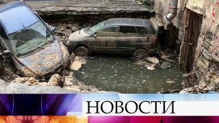 В Санкт-Петербурге из-за прорыва трубы с кипятком погибли два человека.