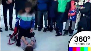 Челябинские школьницы устроили кровавое побоище