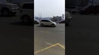 Аварийная парковка у стен Думы Владивостока